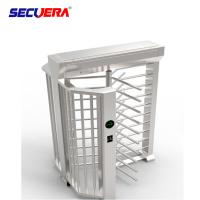 China Turnstile gate Access Control Used Full Height Turnstile Barrier Gate for Sale on sale