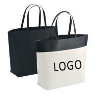 Quality Customized Logo Printed Gift Bag Bucket Shape Paper Bag With Plastic Handle 250x270x100mm for sale