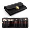 Buy cheap Double Bags 26 Cosmetic Makeup Brush Set Animal Hair Wood Handle Material from wholesalers