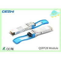 Quality 100G QSFP28 Transceivers SR4 MMF 850nm Reach 100M , MTP / MPO connector for sale