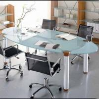 Quality Conference Table with Steel Tube, Contemporary Design, Easy to Assemble for sale