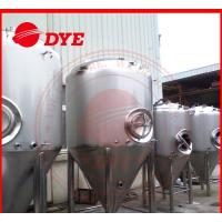 Buy Manual Industrial Beer Brewing Equipment With Mash Tun , Conical Beer Fermenter at wholesale prices