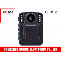 Quality Infrared LED Police Body Cameras 170 Degree Angle Lens Wearable Body Camera for sale