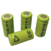 Buy cheap AA2/3 600mAh Rechargeable Battery from wholesalers