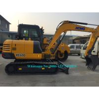 Quality Heavy Construction Vehicles Small Wheeled Excavator Bucket Capacity 0.23CBM for sale