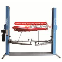 China Base Plate Hydraulic Car Lift 2 Post Hydraulic Auto Lift Mechanical Lock  4T on sale