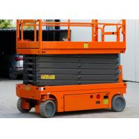 China 8m Platfrom Height Compact Scissor Lift Powered Scissor Lift For Factory Maintenance on sale