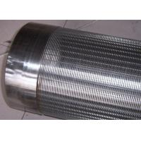 Quality Johnson V Wedge Wire Stainless Steel Water Well Pipe Screen New Years Special for sale
