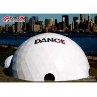 Quality Custom White Geodesic Dome Ballroom Tent Factory In Fastup Tent for sale