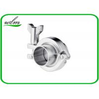 Quality Stainless Steel Sanitary Tri Clamp Fittings Short Type For Food Industries for sale