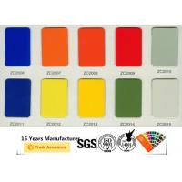 Buy Anti Microbial Polyester Powder Paint , Non Toxic Gloss Powder Coat Paint at wholesale prices