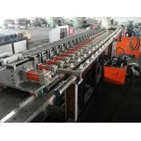 China High Precision 4KW Stud Roll Forming Machine For Light Steel Roof Ceiling Batten on sale