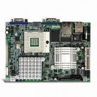 Quality Industrial Mini-ITX Motherboard with Intel Core 2 Duo/Celeron M and Intel 945GM/ICH7M Chipset for sale