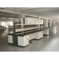 Quality Corrosion Resistant Full Steel Lab Island Bench / Desk Lab Systems Furniture for sale