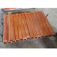 Quality 60x60mm square copper mould tube for continuous casting machine for sale