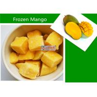 Quality Delicious Frozen Mango Fruit / Organic Food IQF Mango Dices for sale