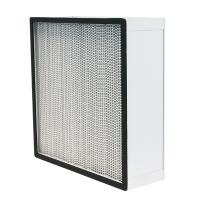 Quality Aluminum Alloy Frame HEPA Air Filter Size 610 * 610 * 292mm Or Customized for sale