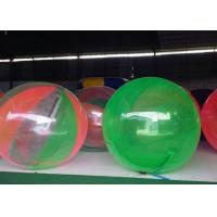 Quality Rental Dia 2m Children Blow Up Water Toys Inflatable Walking Water Ball for sale