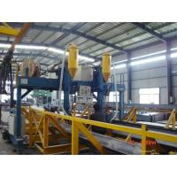 Quality Automatic T / H Beam Production Line , Submerged Arc Welding Machine High efficiency for sale