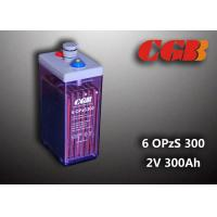 Quality 12V 6 OPzS300 Wind Solar Power Telecom Application Tube ABS Battery for sale