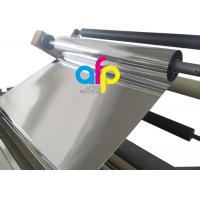 Quality 1 Inch Core Glossy Metalized Thermal Lamination Film BOPP / PET Material for sale