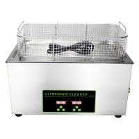 Quality 500 Watt Heated Ultrasonic Lab Equipment 30L With Transducer Science Device for sale