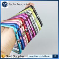 Buy 2015 Luxury slim metal bumper For iphone 6 plus bumper case cover Aluminum at wholesale prices