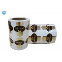High Security Printed Self Adhesive Labels For Product Decoration Adhesive Barcode Labels for sale