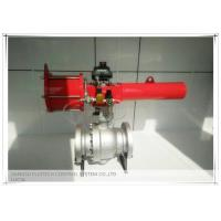 Quality High performance Spring Return Scotch yoke pneumatic actuator for ball valves for sale