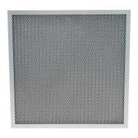 Quality Washable Furnace Corrugated Aluminum 250℃ Pre Air Filter for sale