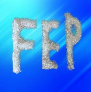 Quality Semitransparent Pellet Fluoropolymer Resin / FEP Resin Molding Grade For Chemical Industry for sale