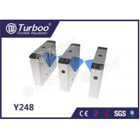Quality Bi - Directional Flap Barrier Turnstile 35 Persons / Min Transit Speed for sale