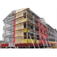 China Prefabricated multi-storey steel frame office / modern design steel structure building on sale