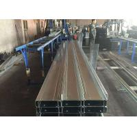 China Light Steel Construction Materials / Steel Building Materials With Galvanized C Z Purlin on sale