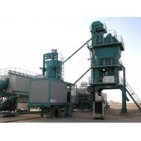 Quality High Pressure Atomizing Burner Mobile Asphalt Plant With 25t / H WAM Screw Conveyor for sale