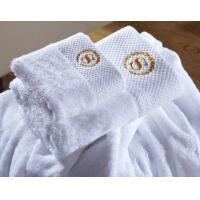 China Luxury Five Star 70*140cm Hotel Bath Towel 100% Cotton With Customized Logo on sale