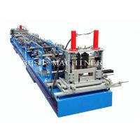 China Auto CZ Purlin Channel Forming Machine With Pre Cutting and Punching Holes on sale
