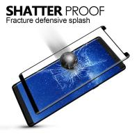Quality Samsung Galaxy Colored Glass Screen Protector9H Hardness Explosion Proof for sale