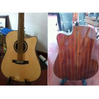 Quality Luxurious Whole Solid Wood Acoustic Guitar small Vintage Guitar TP-AG80 for sale