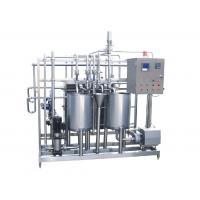 Quality 50t / h Food Sterilization Equipment Milk Pasteurization Machine With Touch Screen Display for sale