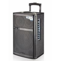 Quality Mic Priority Outdoor Portable Pa Speaker System / Rechargeable Trolley Speaker for sale