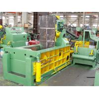 Quality 9.5 Tons Scrap Baler Machine For Leftover Metals / Copper / Aluminum Y81Q - 160 for sale