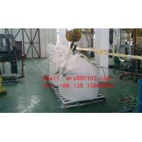Quality Flexible one Ton PP woven plastic Jumbo bag , Type A food storage big bags for sale