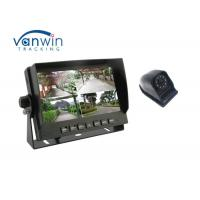 Quality Security 360 Degree TFT Car Monitor , 7 Inch Screen Car Video Monitors SD Card Storage for sale