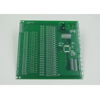 Quality Silver Plated Impedance Controlled PCB with 2mil Trace Green Solder Mask for sale