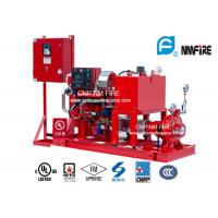Quality High Precision Diesel Engine Driven Fire Fighting Pump Centrifugal 175PSI / 404 Feet for sale