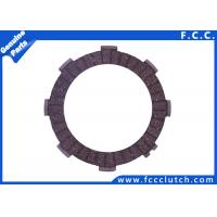 Quality FCC Motorcycle Clutch Friction Plate Honda CG125 CG150 143-C6G02-00 for sale