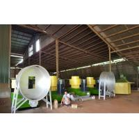 Quality straw bales pellet line, complete pellet production line project with 1T/H~5T/H capacity for sale