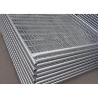 Quality Security Galvanized Temporary Construction Fence Panels For Isolation for sale