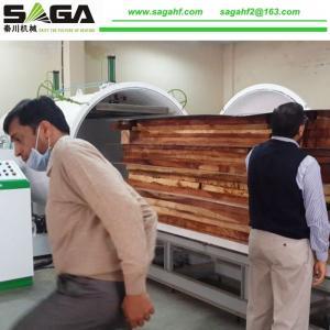 Full-auto Radio Frequency Vacuum Wood Drying Machine Sales From SAGA Machinery